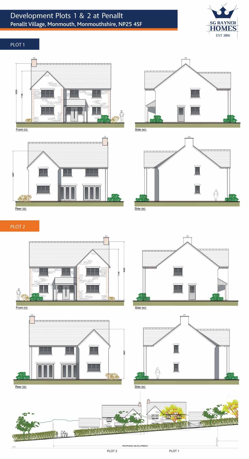 Penallt Development - Elevations