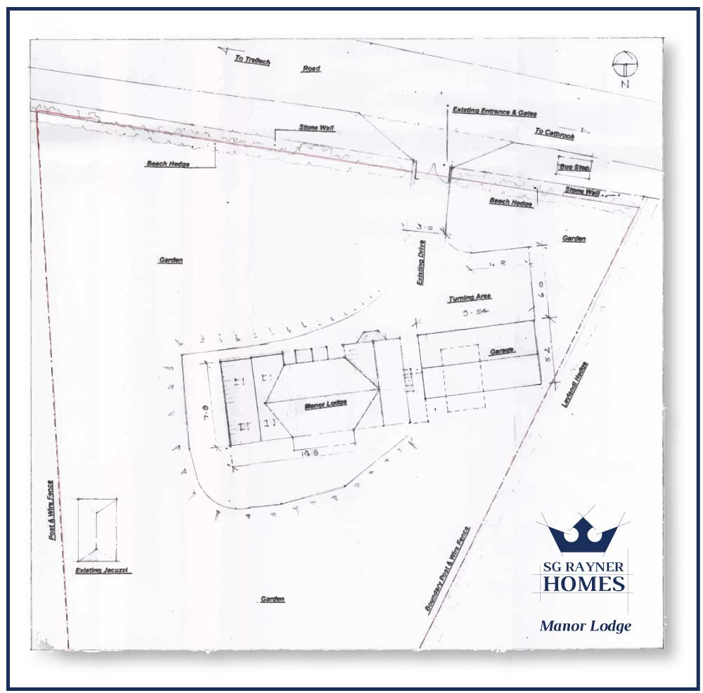 SG Rayner Homes - Manor Lodge Site Plan