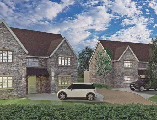 SG Rayner Homes – latest development taking shape