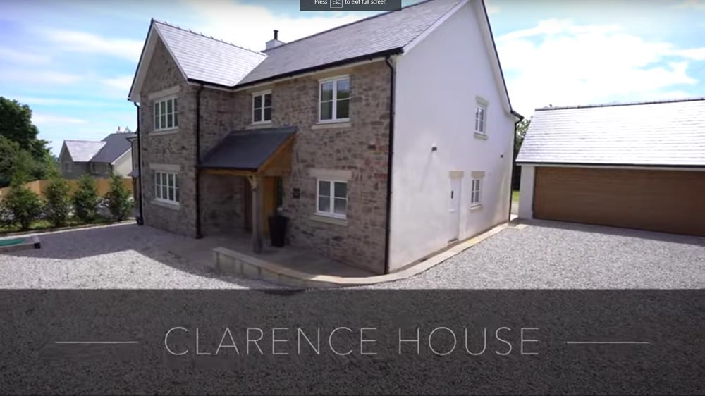 Clarence House, Penalt, Monmouth