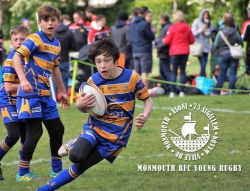 Monmouth Young Rugby Sponsorship