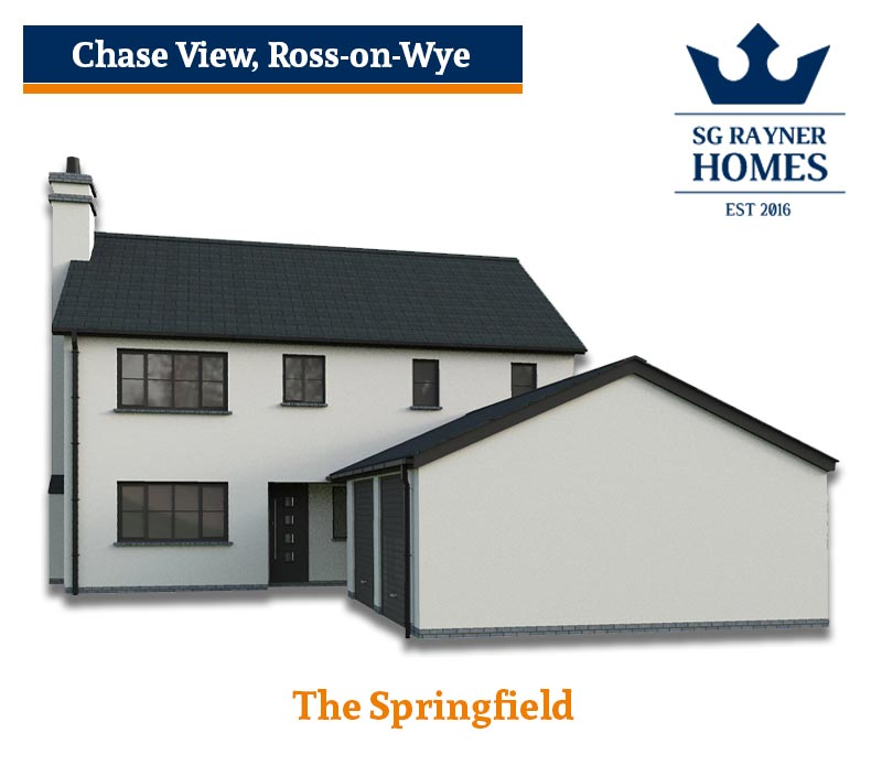 The Springfield, SG Rayner Homes Chase View , Ross-on-Wye Development