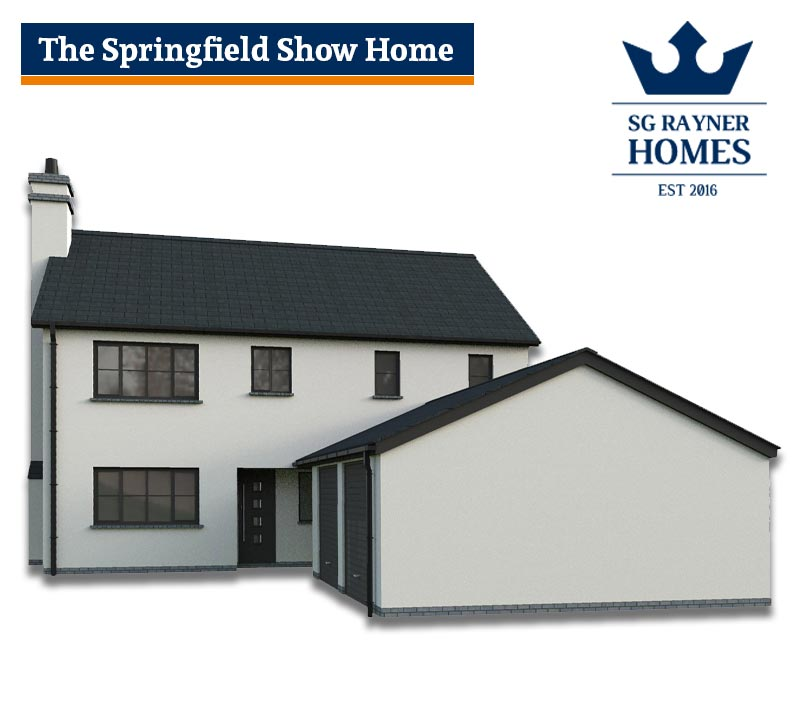 SG Rayner Homes - Chase View, Ross-on-Wye Show Home - The Springfield